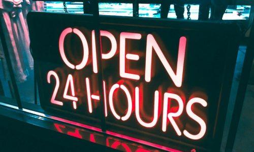 Open 24 Hours24hours